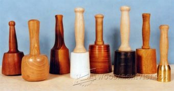 3005-All About Wood Carving Mallet