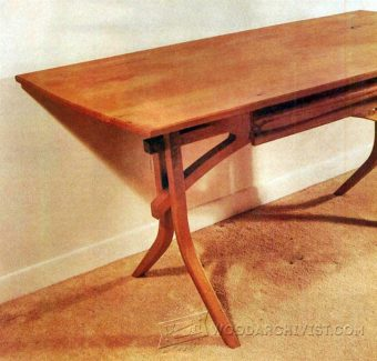 3006-Writing Desk Plans