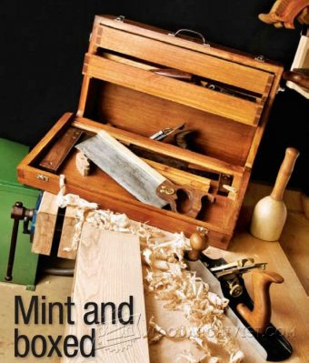 3022-Wooden Toolbox Plans