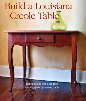 3023-Creole Table Plans