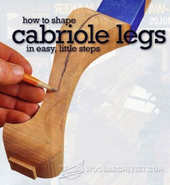 3029-Shaping Cabriole Legs
