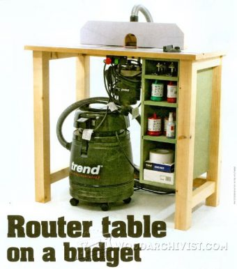 3034-Budget Router Table Plans