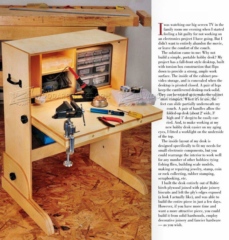 Permalink to woodworking plans desk
