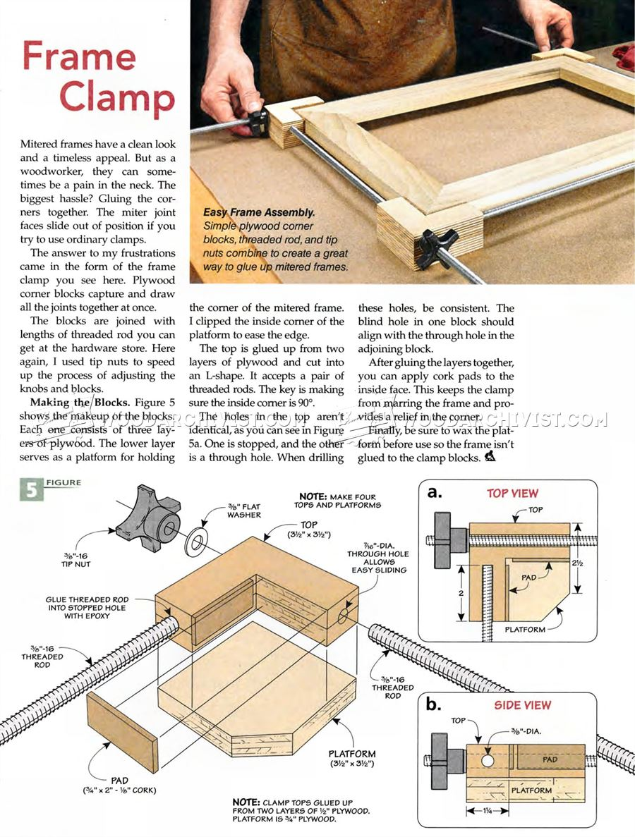 DIY Frame Clamp