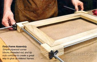 Shopmade Picture Frame Clamping Jig Woodarchivist