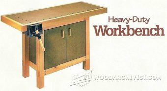 3058-Small Workbench Plans