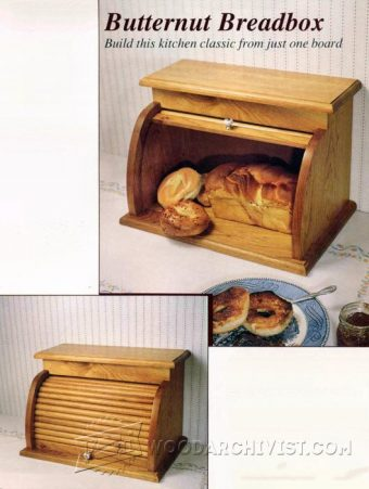 3062-Tambour Bread Box Plans