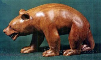 3064-Carving Bear - Wood Carving Patterns