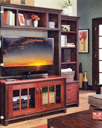 3065-Entertainment Center Plans
