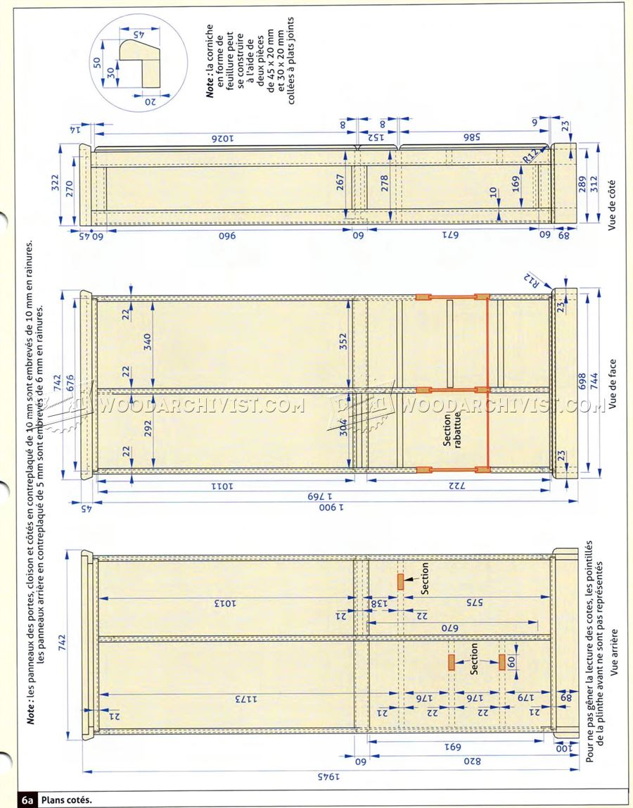 Hall Cupboard Plans