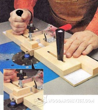 3069-Small Parts Routing Jig