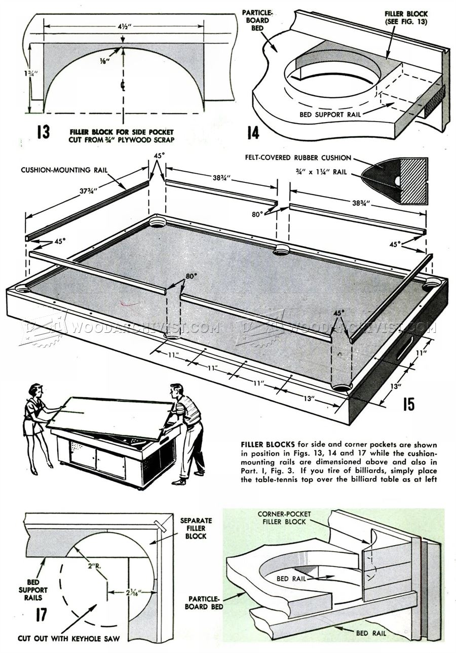 DIY Pool Table
