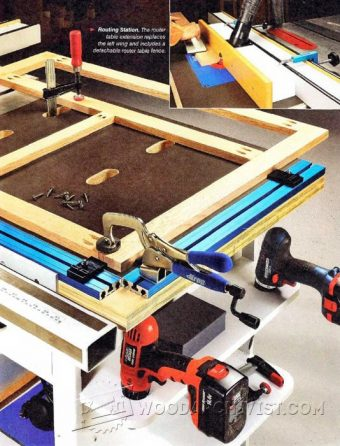3075-Table Saw Workstation Plans