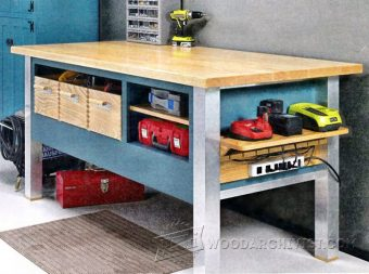 Woodworking Assembly Table Plans • WoodArchivist