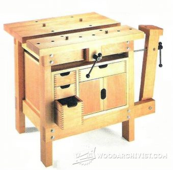 3080-Small Workbench Plans