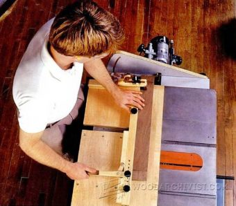 3083-DIY Mortise and Tenon Jig