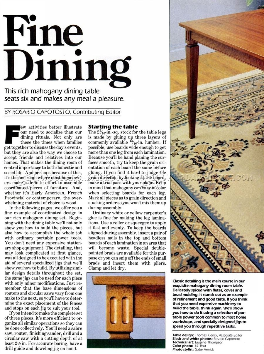 100 Dining Room Table Plans Rustic