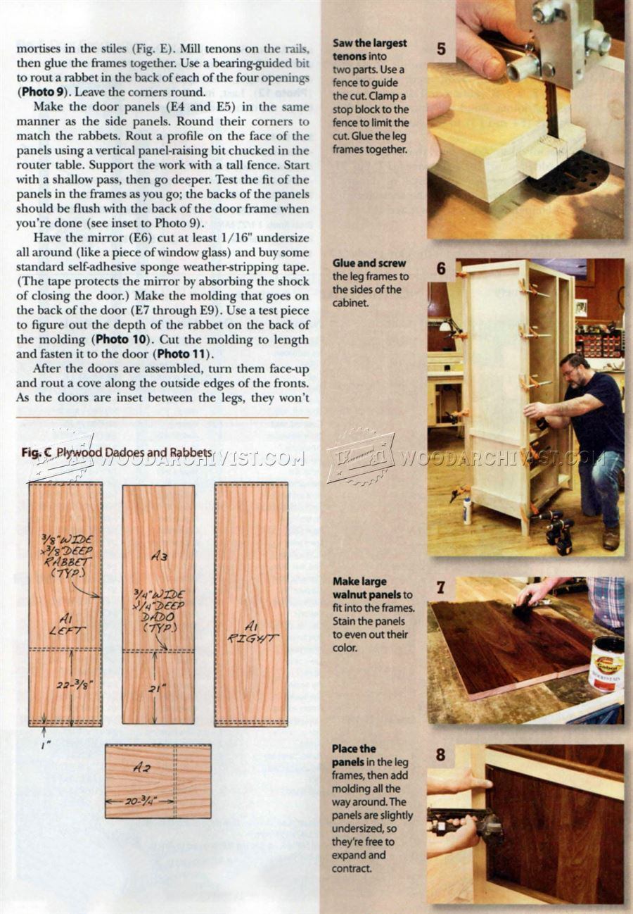 how to build an armoire with drawers