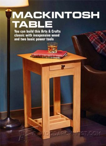 3106-Mackintosh Table Plans