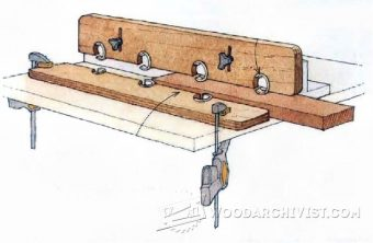 3107-DIY Router Table Hold Downs