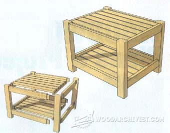 3113-DIY Footstool