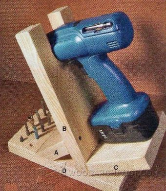 3114-Cordless Drill Stand