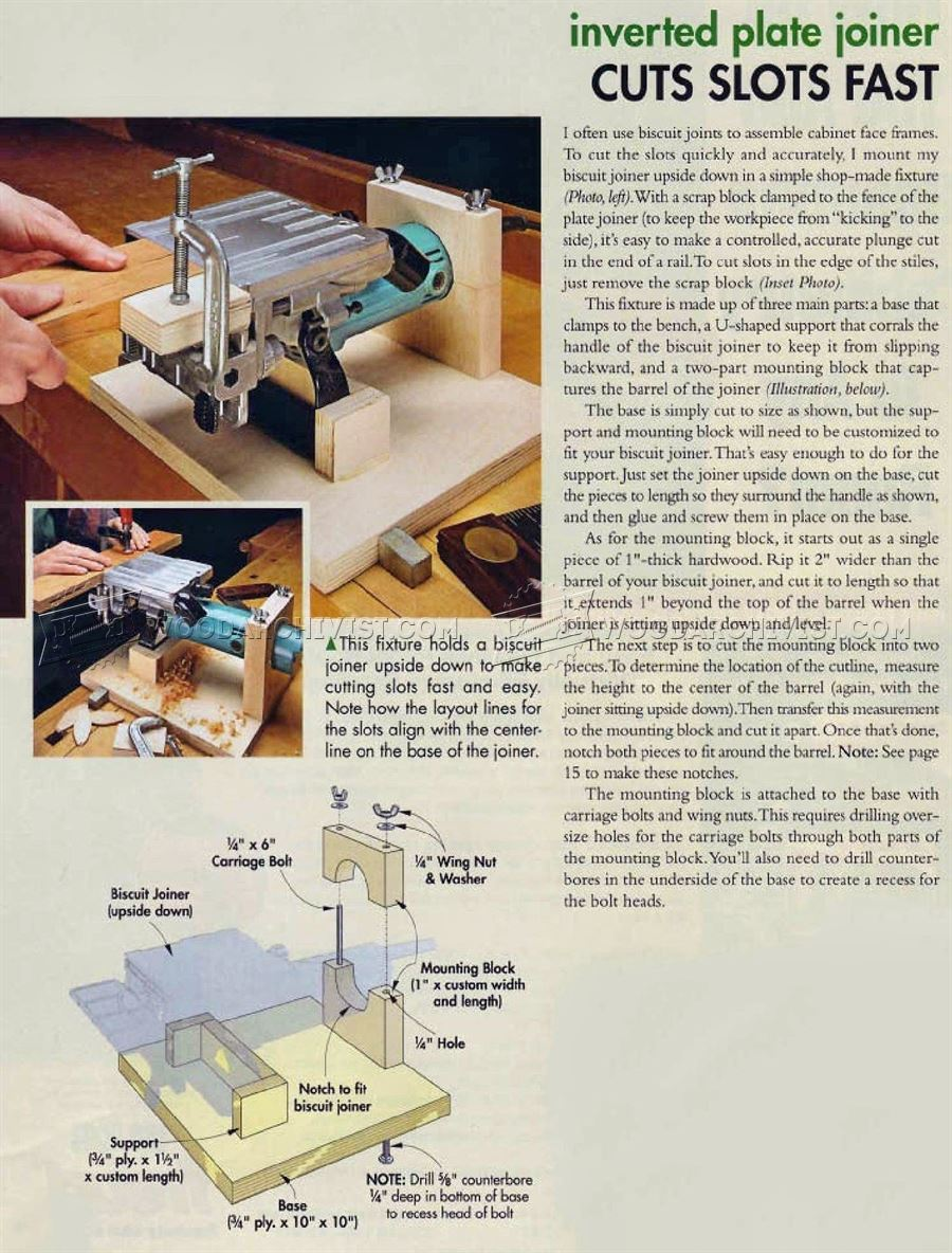 #3115 Biscuit Joiner Table