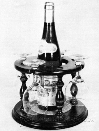 3123-Wine Glass Holder Plans