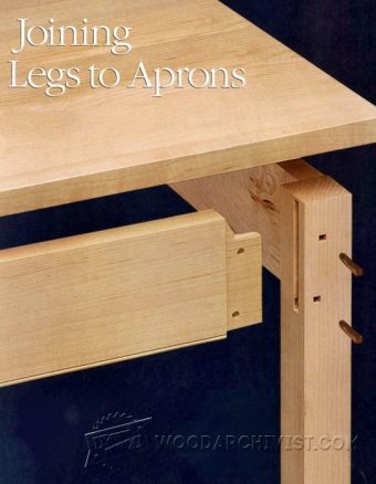 3124-Jointing Legs to Aprons