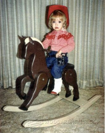 3127-Wooden Rocking Horse Plans