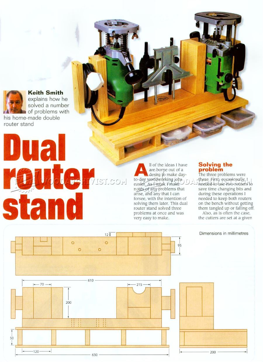 Router Stand Plans