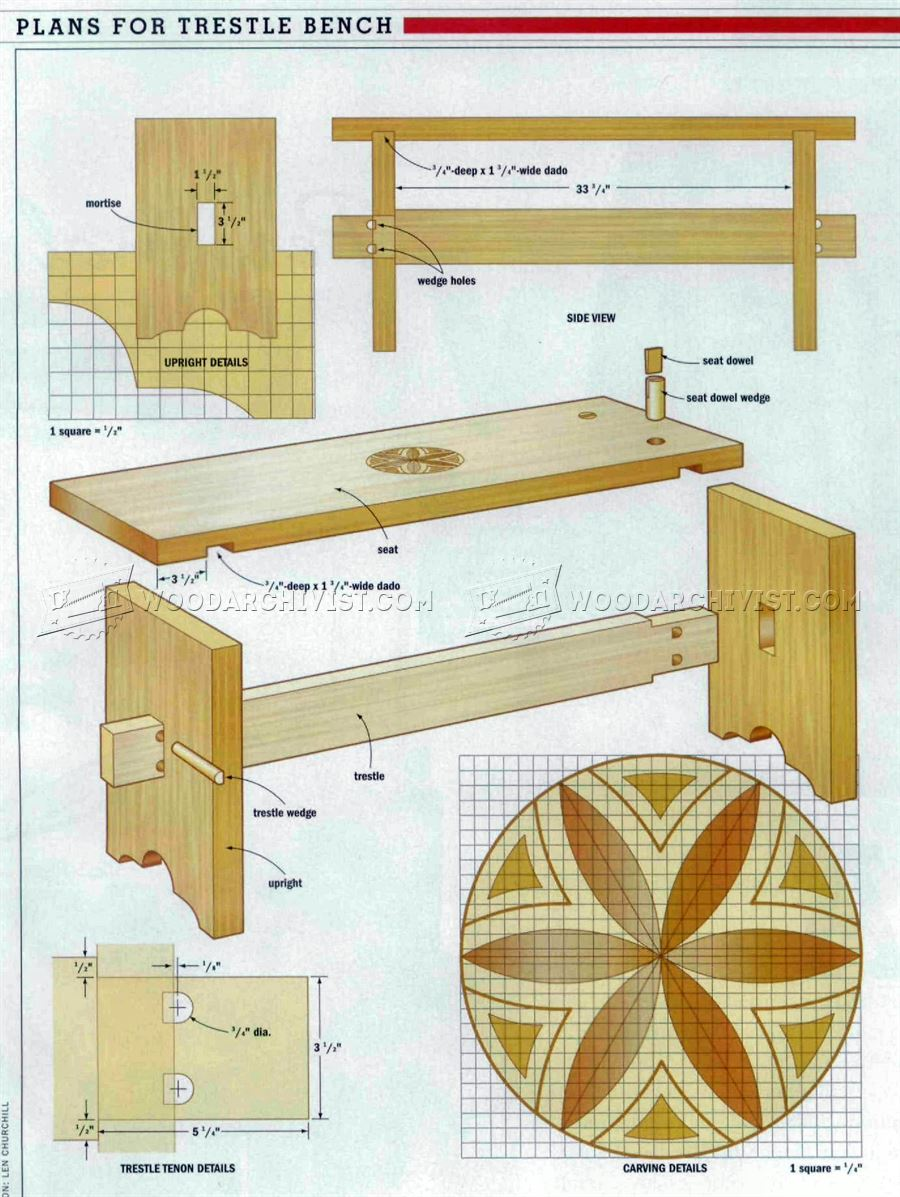 Bench Seat  Plans