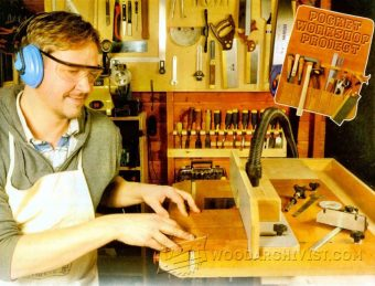 3147-Bench-Mounted Router Table Plans
