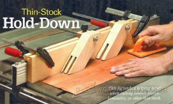 3148-Table Saw Thin Stock Hold Down