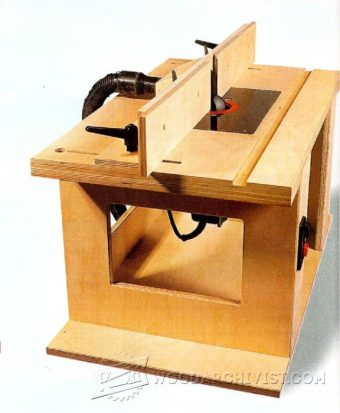 3149-DIY Router Table Fence
