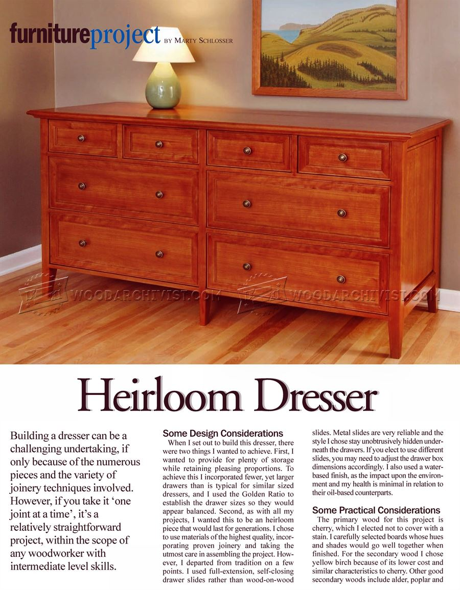 Heirloom Dresser Bestdressers 2017