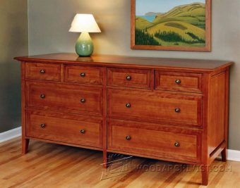 3151-Heirloom Dresser Plans