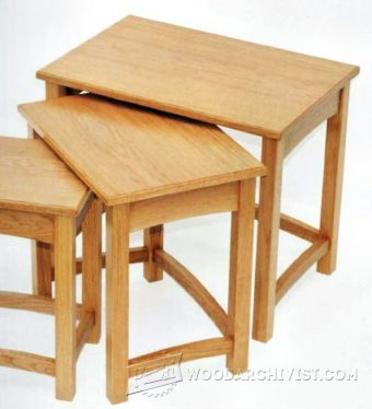 3155-Nest of Tables Plans
