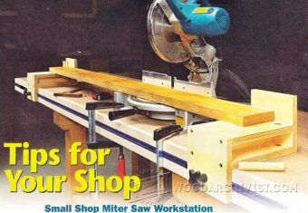 3158-Miter Saw Workstation Plans