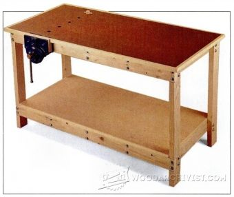 3160-Garage Workbench Plans
