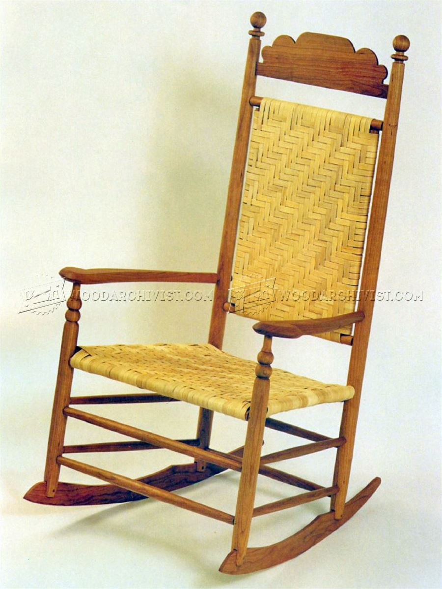 Wood rocking chair plans woodarchivist for Rocking chair design plans