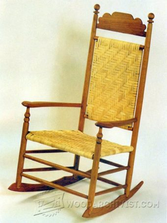 3164-Wood Rocking Chair Plans