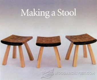 3167-Small Stool Plans