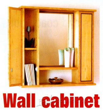 3169-Mirror Wall Cabinet Plans