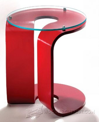 3179-Glass-Top Side Table Plans