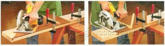 3183-Circular Saw Crosscut Guide