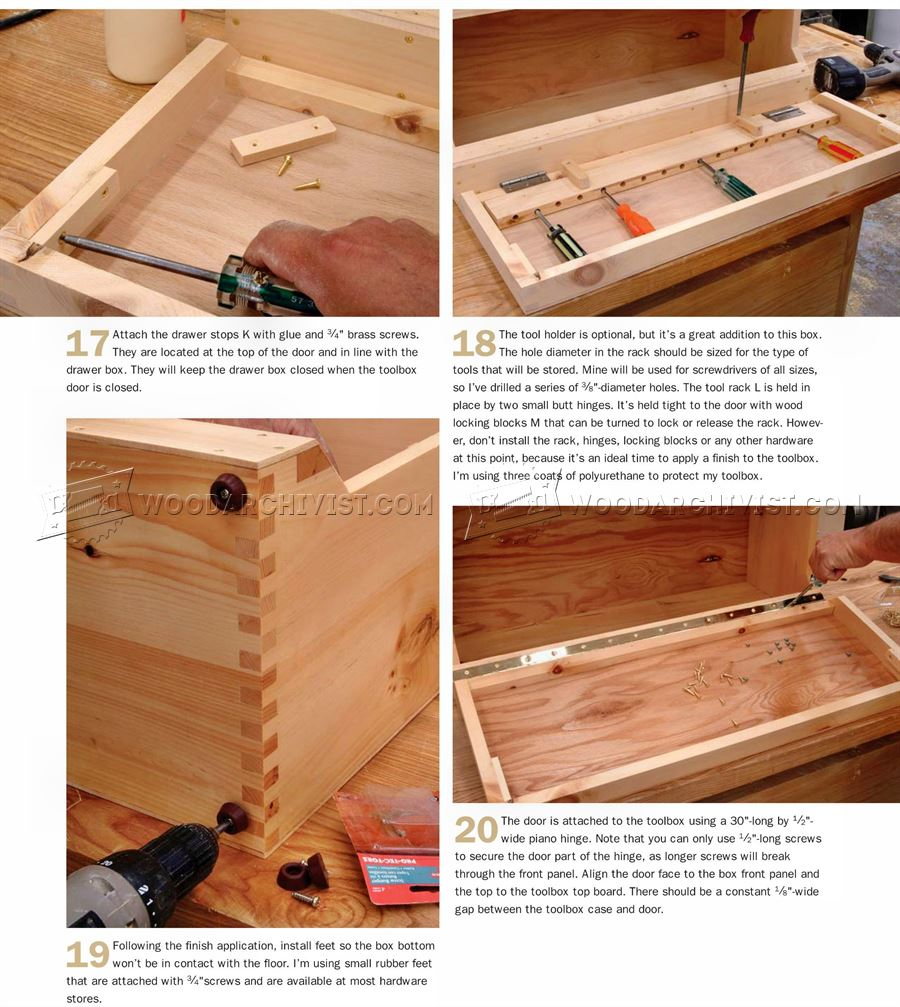 Carpenter's Toolbox Plans