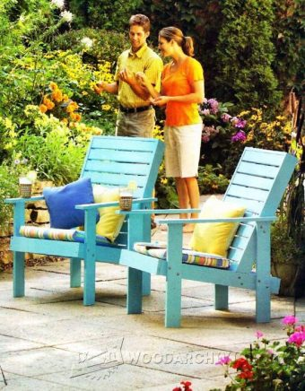 3187-Outdoor Lounge Chair Plans