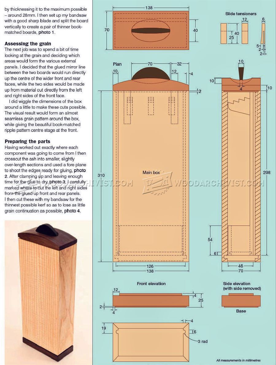 Necklace Box Plans