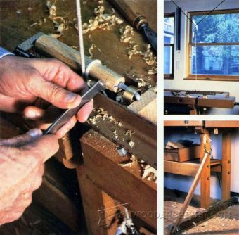 3189-DIY Pole Lathe